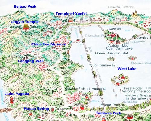 Hangzhou Subway Map.Maps Of Hangzhou Downloadable And Detailed West Lake Map