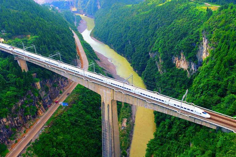 High Speed Train Travel
