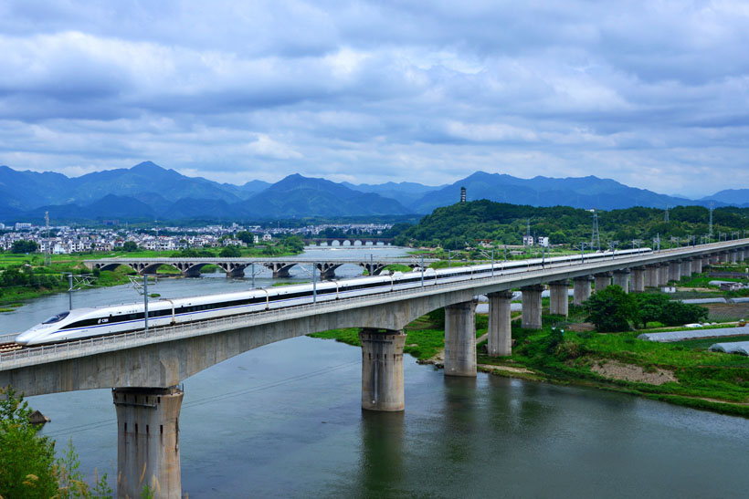 Most Beautiful China High Speed Railways 2020