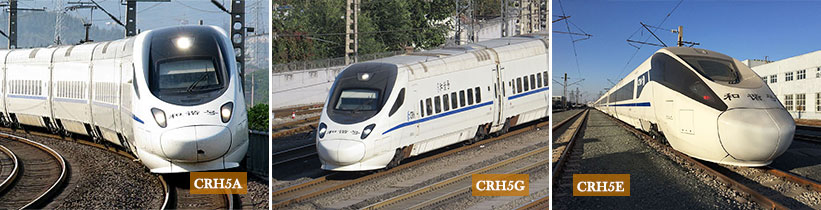 CRH5 High Speed Trains