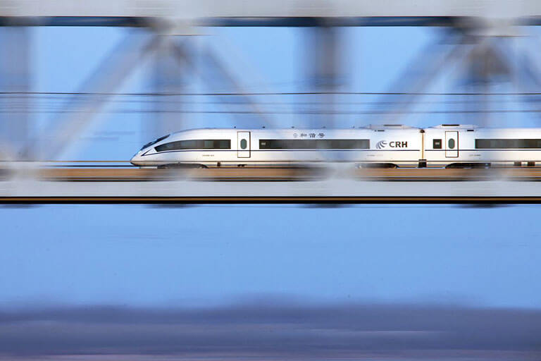 High Speed Train Speed