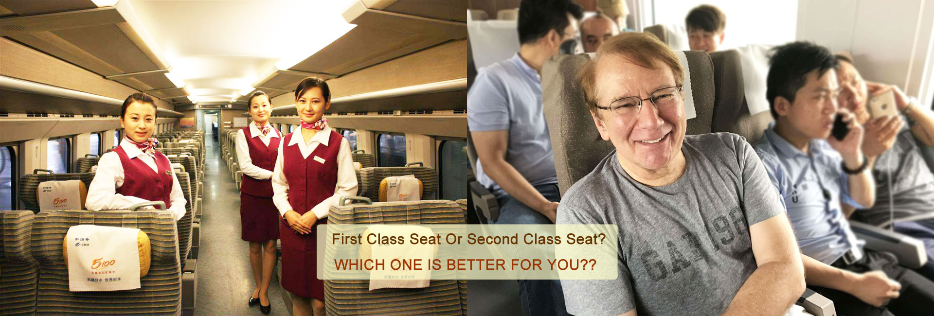 Difference between First Class and Economy Seats