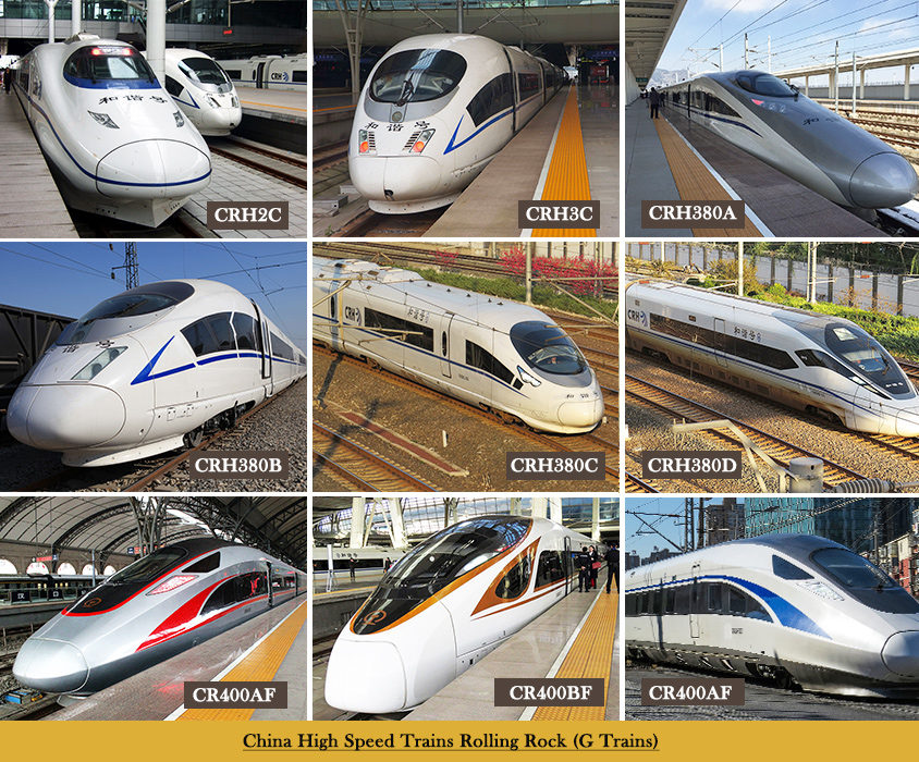 Rolling Stocks of G High Speed Trains