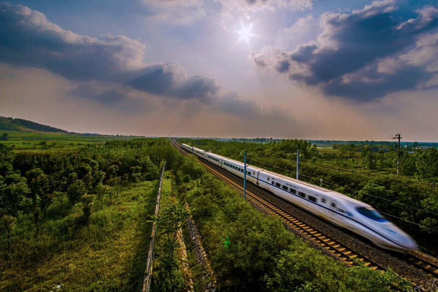 China High Speed Railway Landscapes