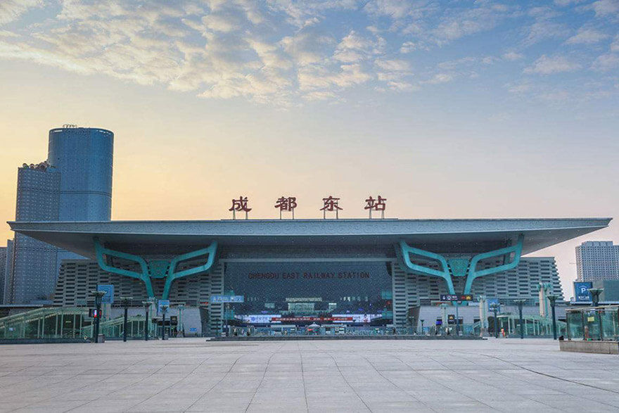 Chengdu East (Dong) Railway Station