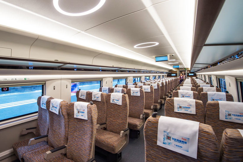 China High Speed Train Seats