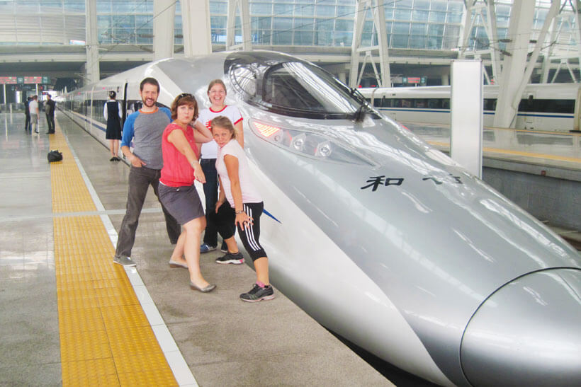 Advantages of Travelling by High Speed Train