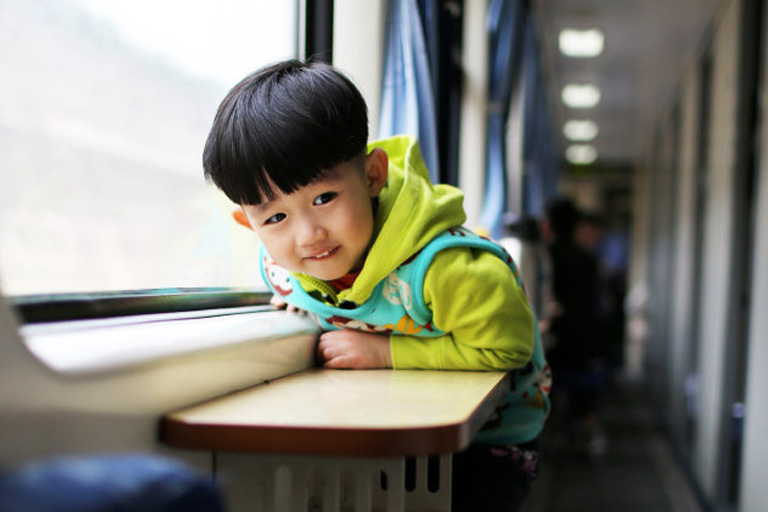 Train Travel with Children in China