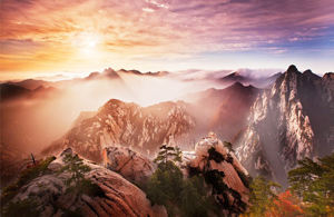 Five Great Mountains in China