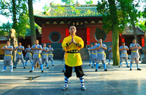 Shaolin Temple in China