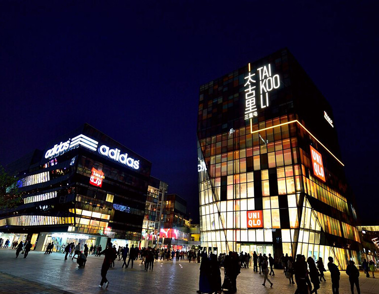 Top 3 Best Shopping Malls at Night