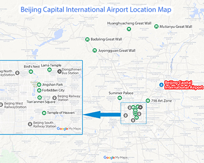 Beijing Airports Maps