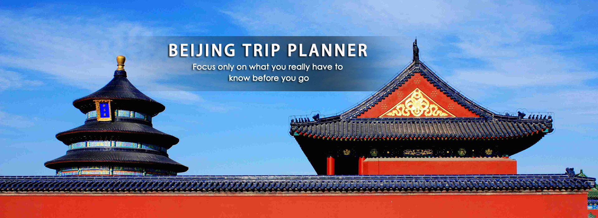 How to Plan a Beijing Trip 2019