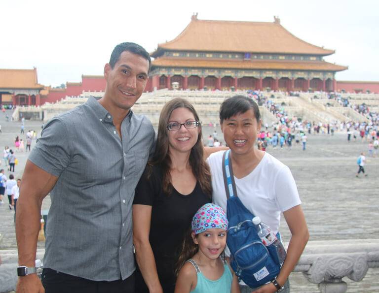 Forbidden City with Family