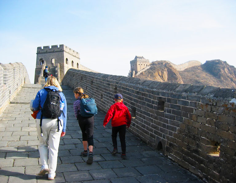 Great Wall Hiking