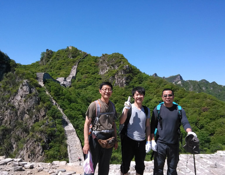 Hikes on Jiankou Great Wall