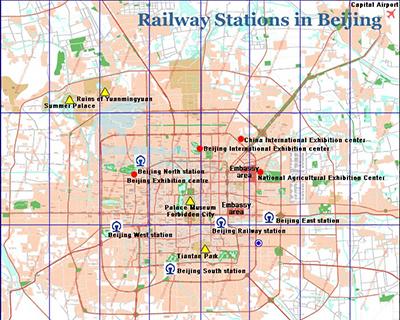 2018 Beijing Maps Beijing China Map Beijing Tourist Map
