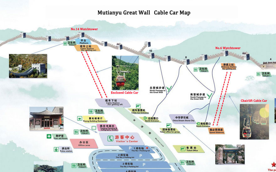 Mutianyu Great Wall Cable Car 2019: Maps, Travel Ideas and Tips on