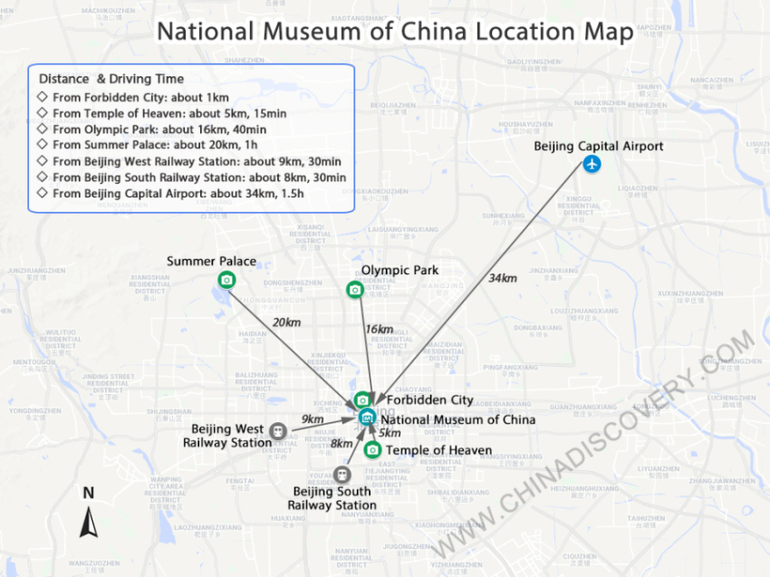 National Museum Map