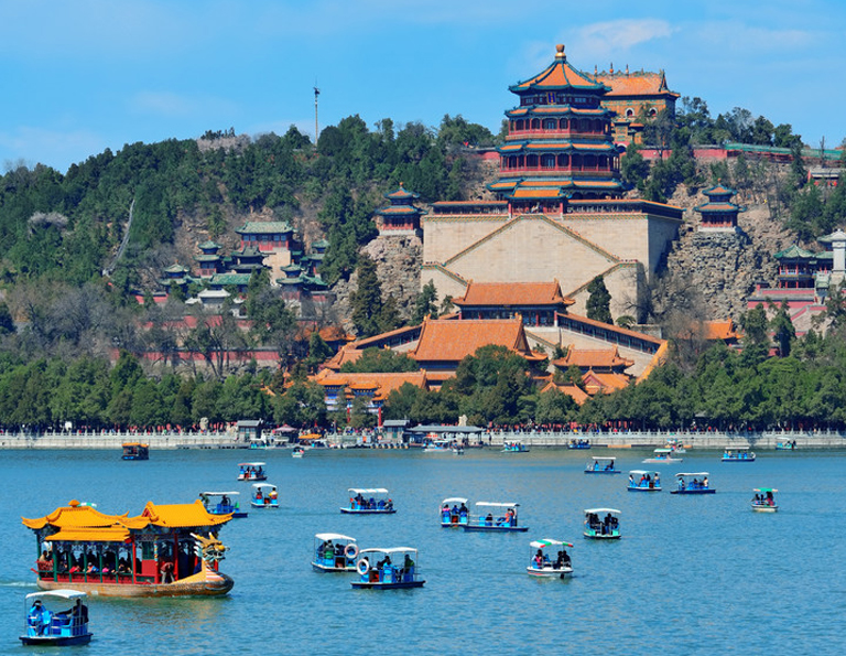 Summer Palace Boating