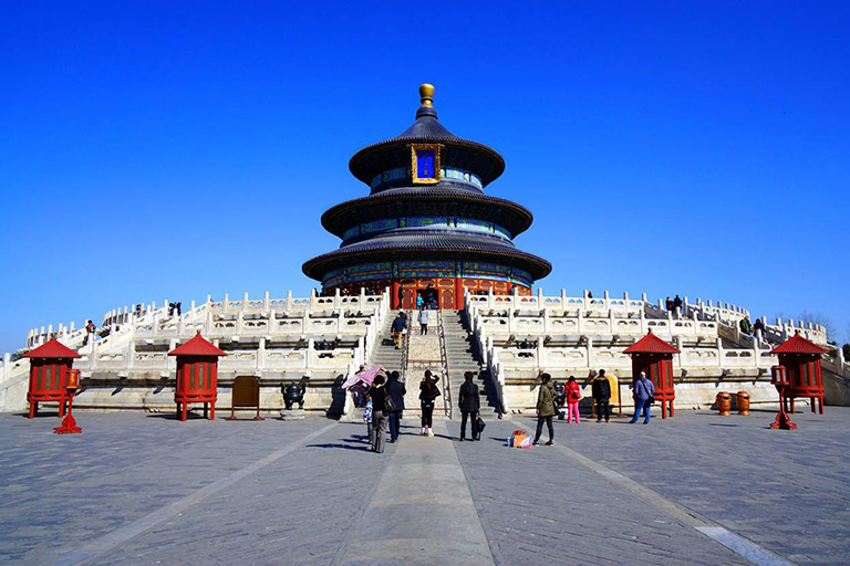 Fantastic View in Temple of Heaven