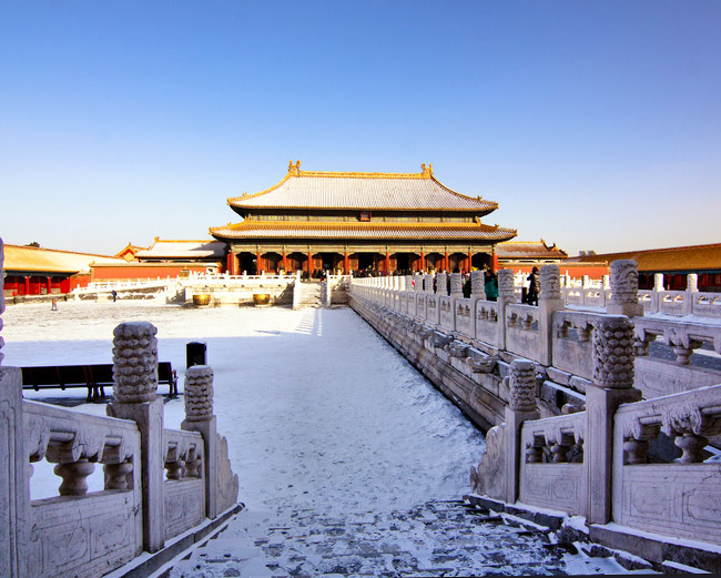 Winter in Beijing