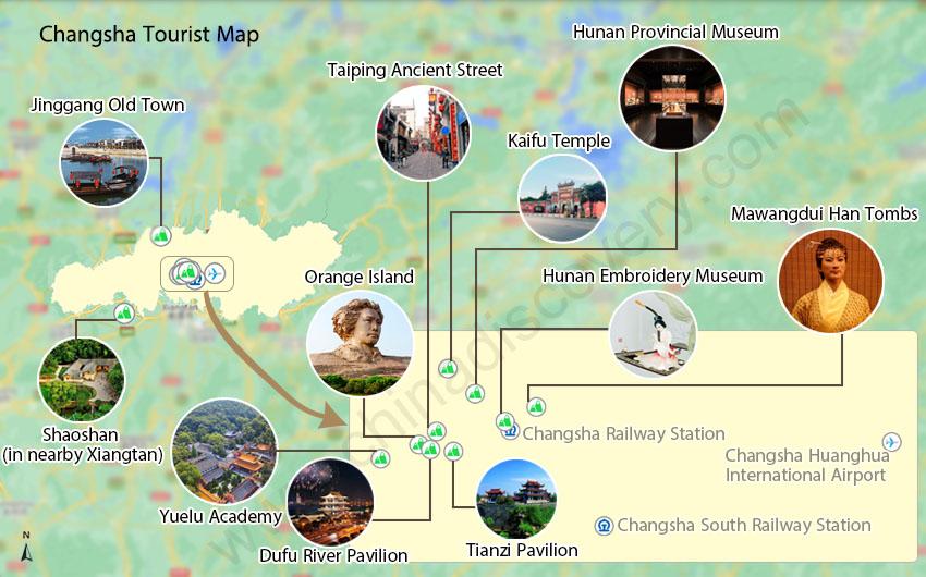 Hunan Province China Map.Changsha Map Changsha China Map Changsha Hunan Map