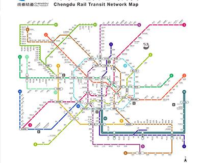 Chengdu Maps, Detailed Chengdu Tourist Maps 2019