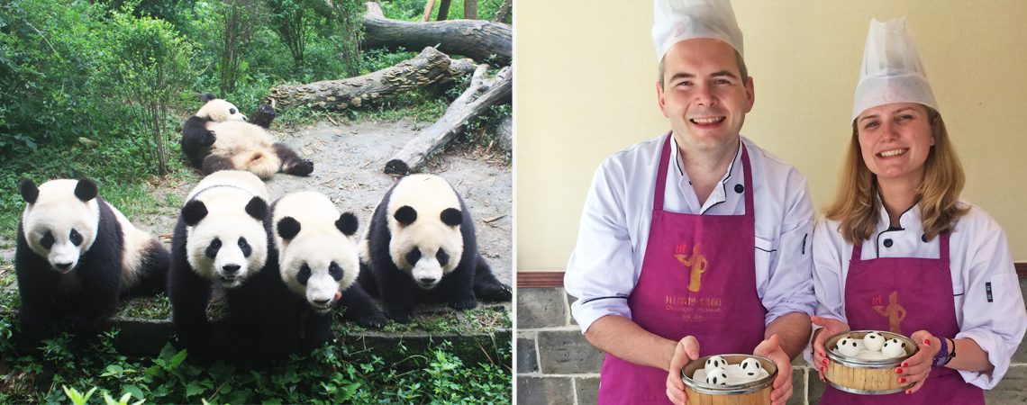 Chengdu Tour with Panda and Food