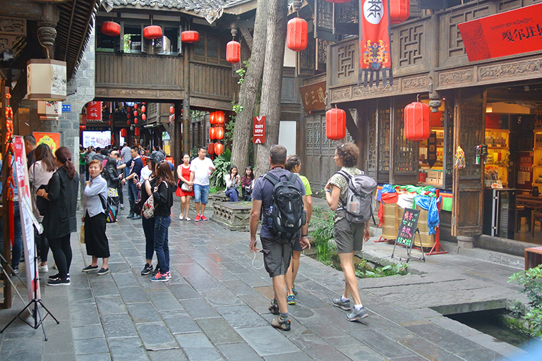Jinli Old Street  (Foreigner)