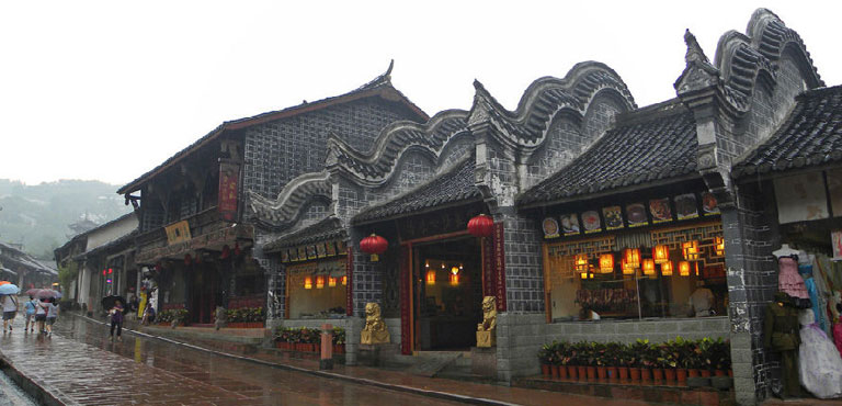 Luodai Ancient Town Chengdu Luodai Hakka Old Town