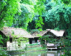 Du Fu Thatche Cottage