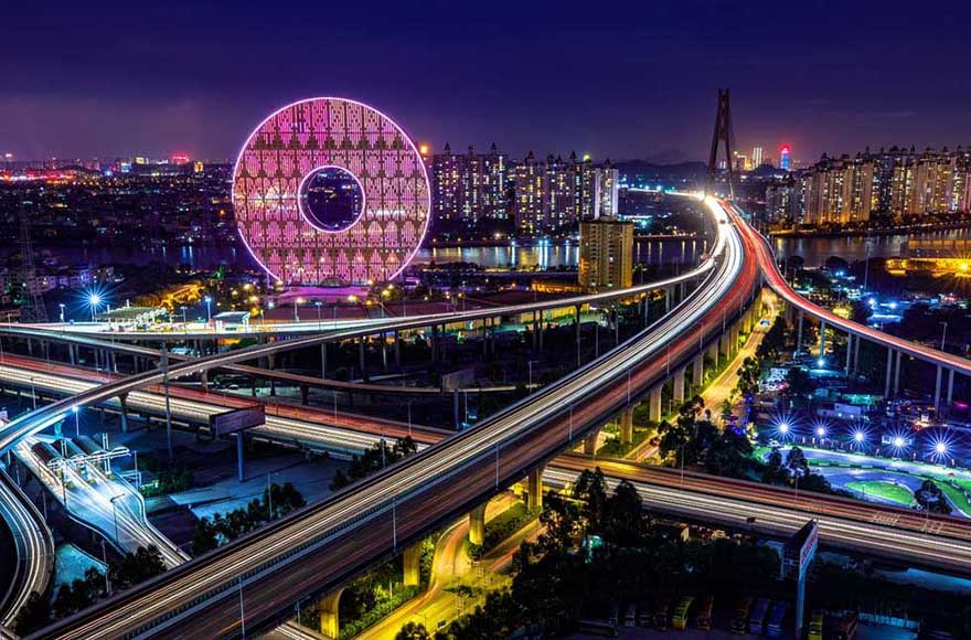 Gorgeous Night Skyline of Guangzhou