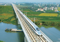 Hangzhou Shanghai High Speed Train