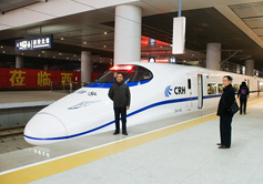 High Speed Train from Xian
