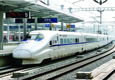 High Speed Train from Guilin
