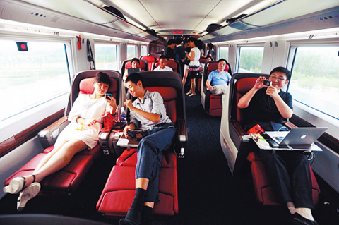 how to buy china bullet train ticket