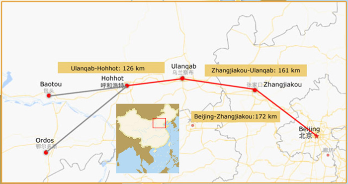 Hohhot Transportation — Beijing to Hohhot
