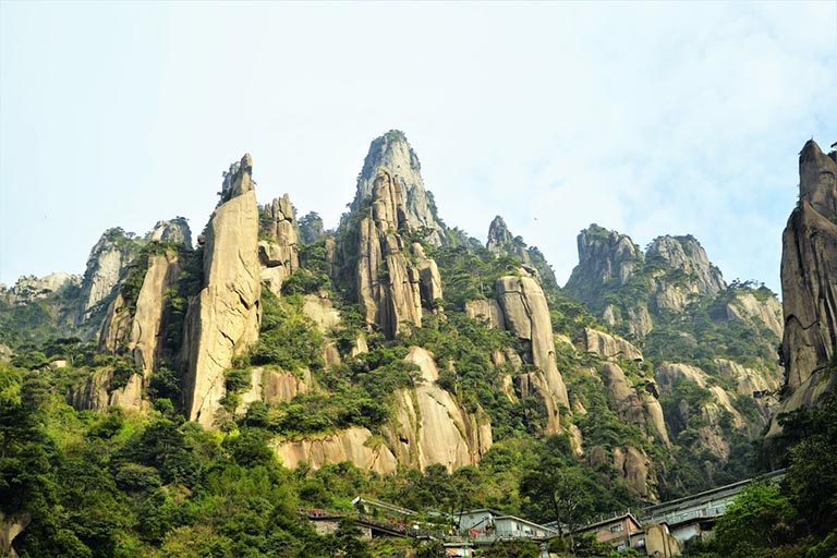 Sanqing Mountain in Shangrao