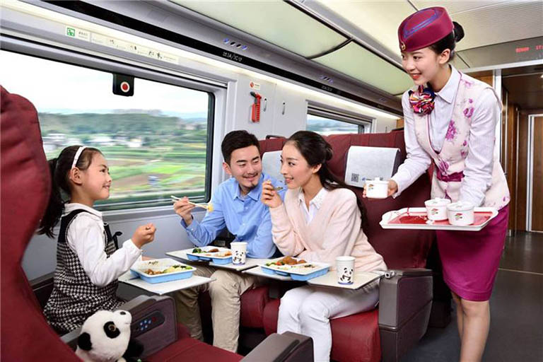 China High Speed Train Food Service