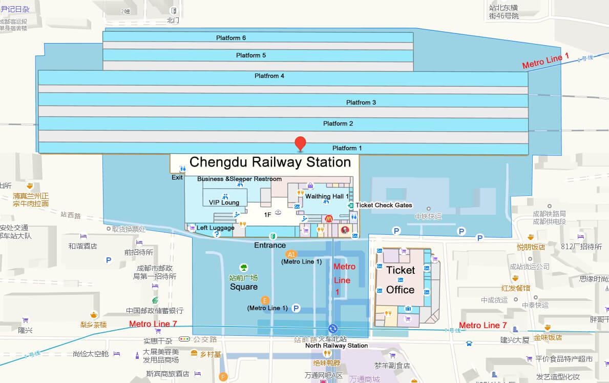 Chengdu Subway Map New Station.Chengdu Railway Stations Chengdu Train Stations