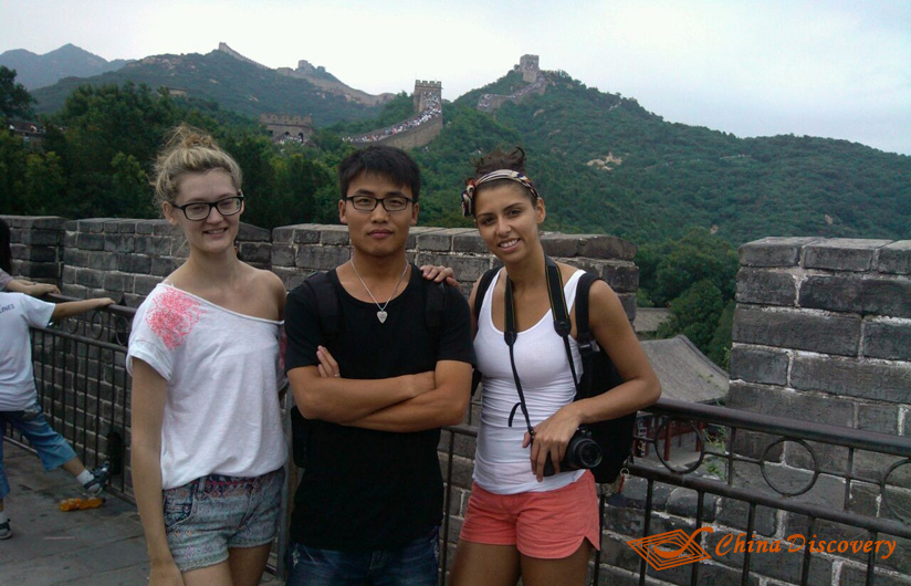 visit the great wall with china discovery