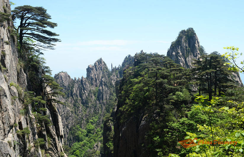 China Huangshan Travel Photo