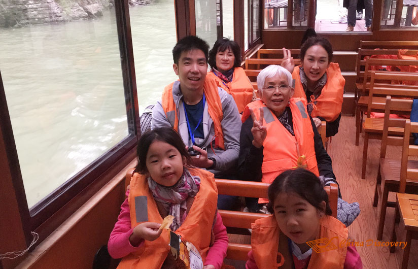 China Yangtze River Cruise Travel Photo