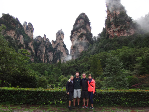 Tour in Zhangjiajie