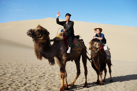 Tour in Dunhuang