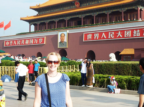 Tour in Beijing Tiananmen Square
