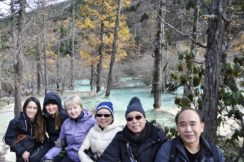 Tour in Huanglong Valley