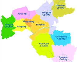 Datong District Map