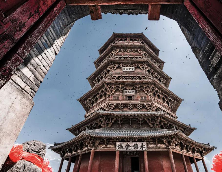 Yingxian Wooden Pagoda -  Tallest Wooden Multi-storey Structure